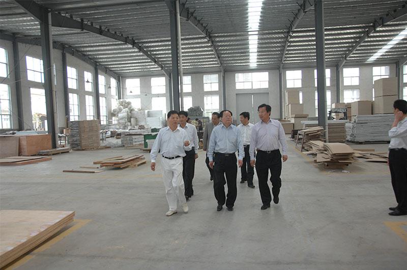 2012年省政协常委、原市政协主席孟宪海来企考察